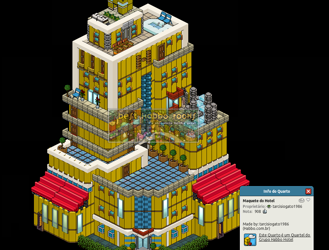 Salas De Estar En Habbo ~ Best Habbo Rooms  Libros  HabboHappy