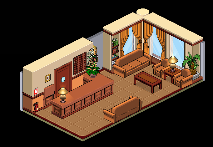 Sala De Estar Habbo ~ Lote Antiguo Recibidor  Noticias  HabboHappy