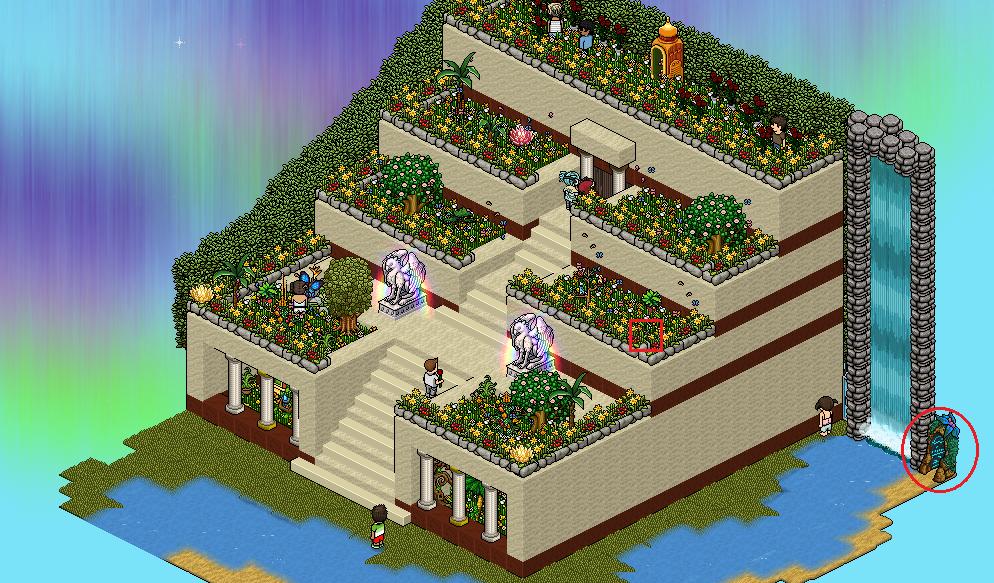 Jardines colgantes de babilonia noticias habbo happy Hotel jardines de babilonia