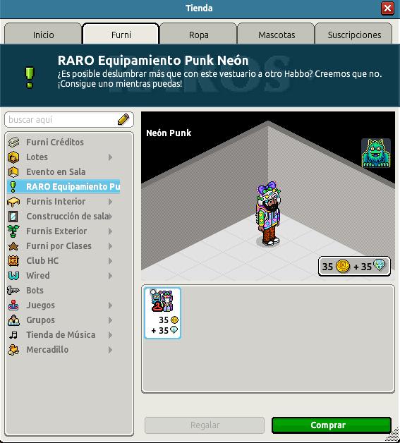 Raro Neón Punk